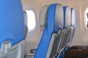 飛行機の客席