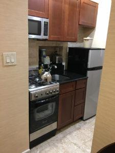 キッチン付きホテル