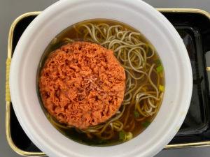 富士そばカップ麺中身