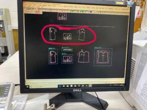 CADの画面