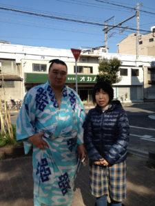 日馬富士と私