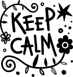 Keep Calm文字
